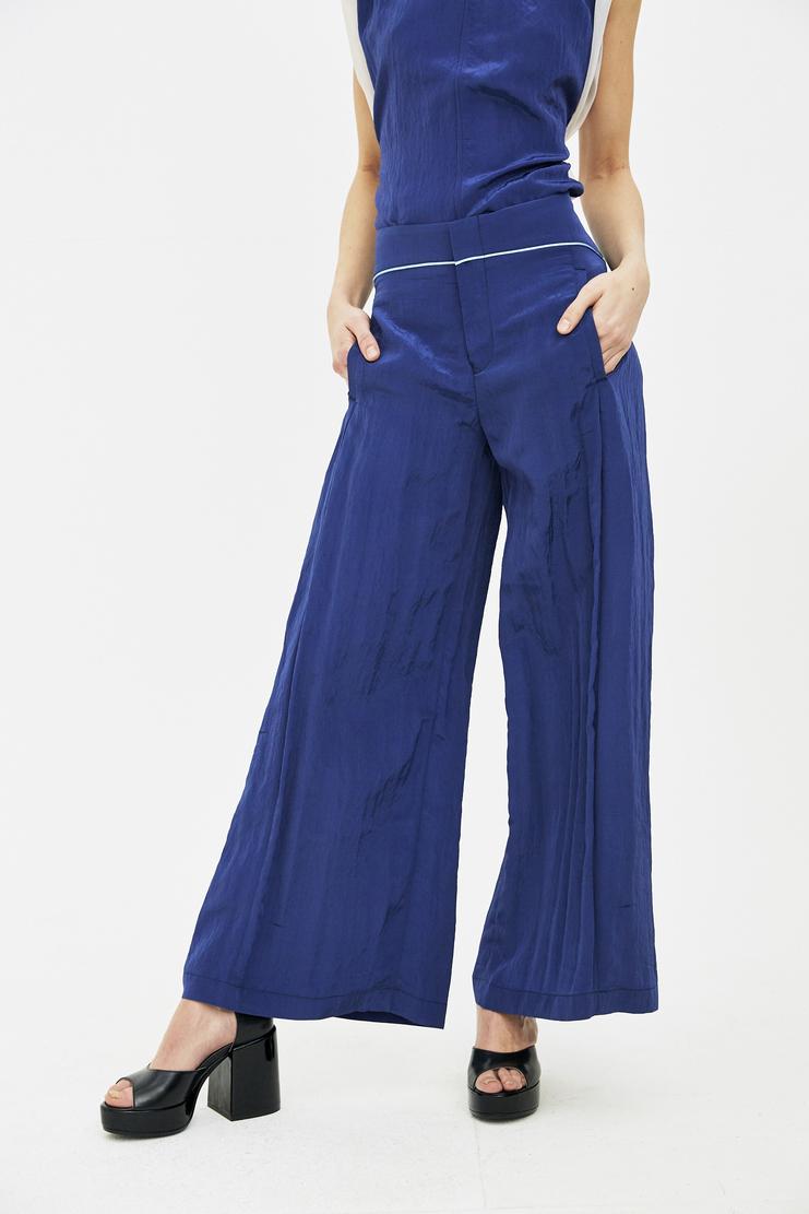 Ovelia Transtoto Avelia Transoto Blue Peerless Trouser ss s/s 18 Machine-A