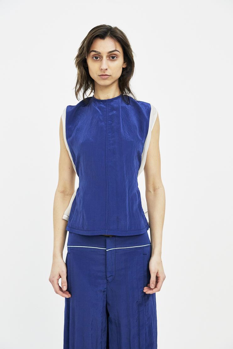 Ovelia Transtoto Avelia Transoto Blue See Shirt ss s/s 18 Machine-A