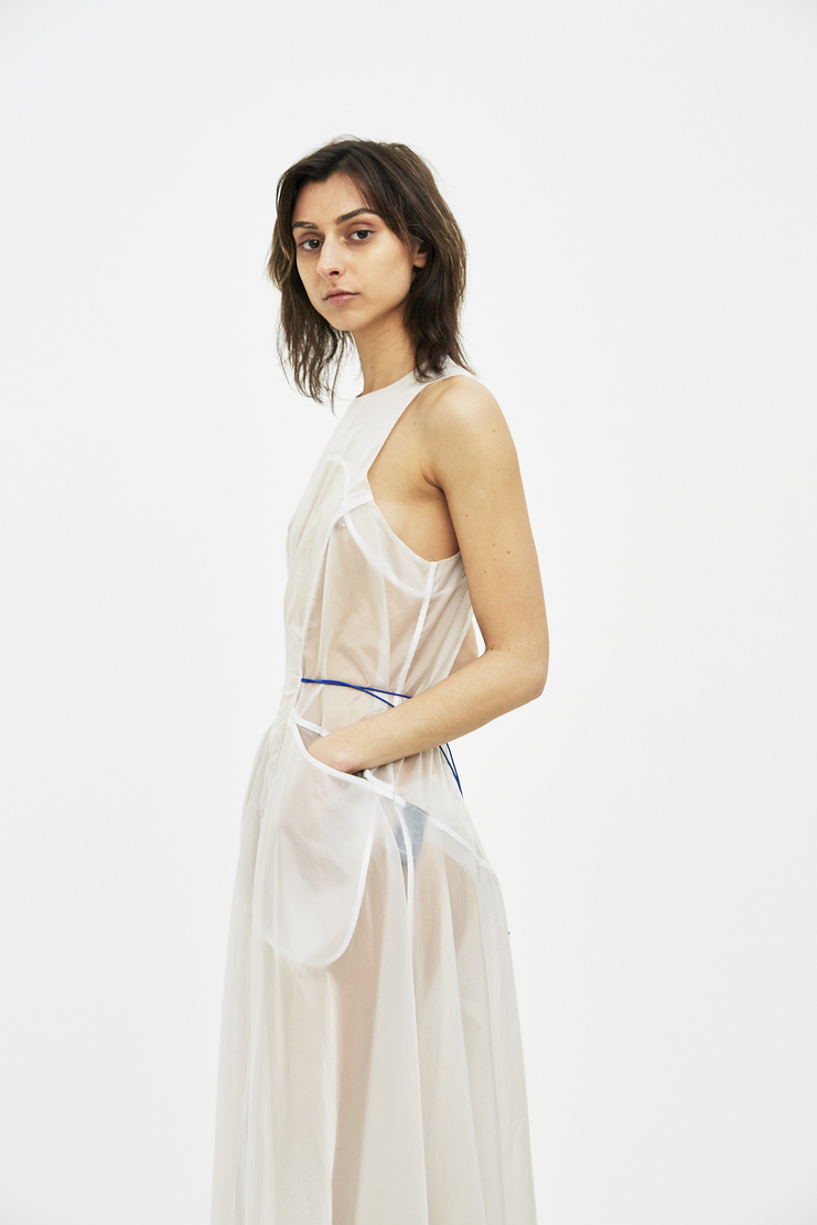 Ovelia Transtoto Avelia Transoto Transparent Packed Dress ss s/s 18 Machine-A spring summer dresses womens