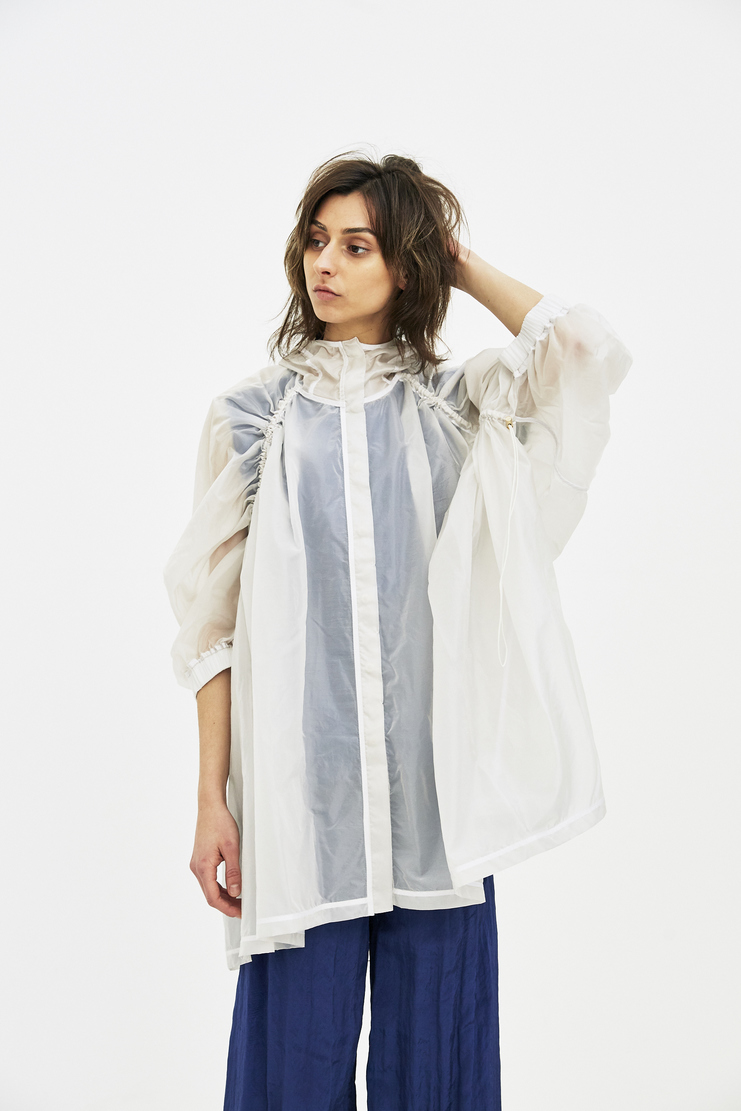 Ovelia Transtoto Avelia Transoto Transparent Clinical Parka ss s/s 18 Machine-A spring summer coat coats new arrivals