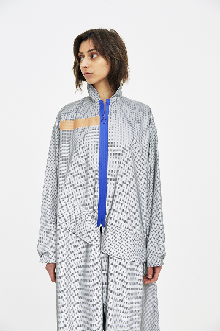 Martina Spetlova Silver Reflective Jacket SS18 s/s 18 spring summer Machine A SHOWstudio new arrivals jackets womens