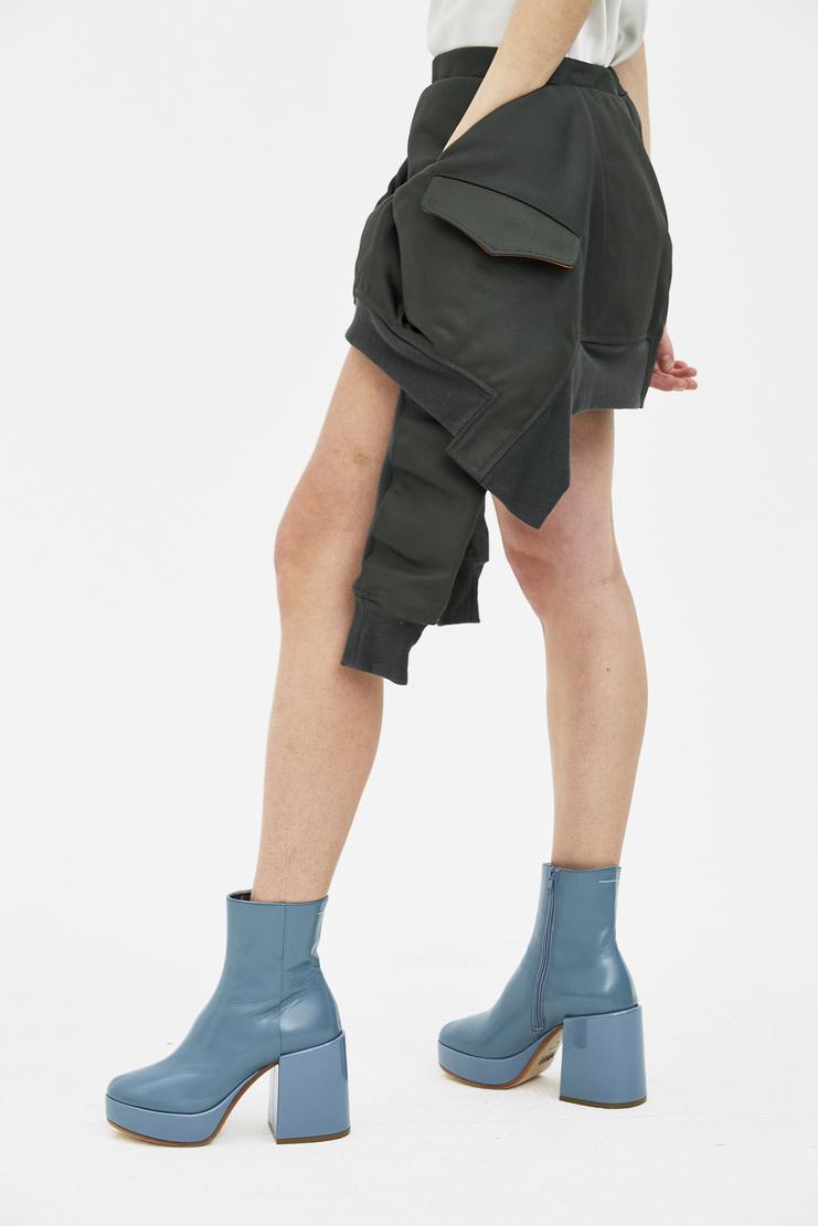 Helmut Lang Bomber Mini Skirt deconstructed jacket short ss18 residence shayne oliver shane spring summer machine a