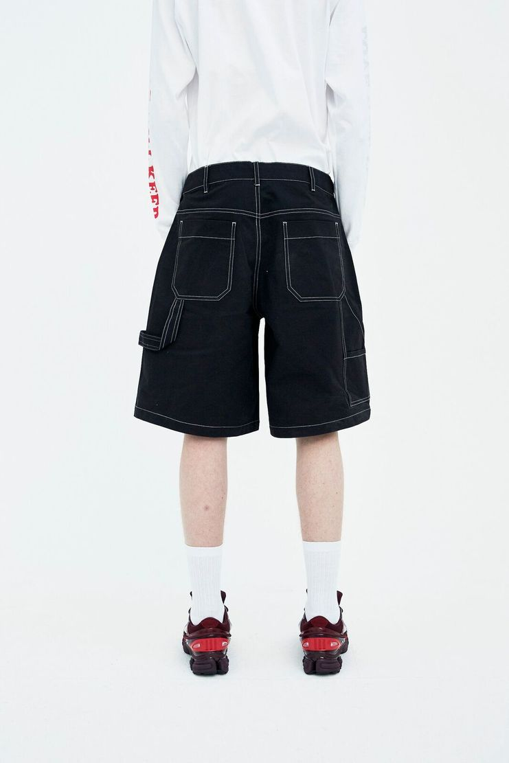 Liam Hodges black new world shorts trousers bottoms SS18 S/S 18 Spring Summer Grey LH-SS18-102 Machine-A