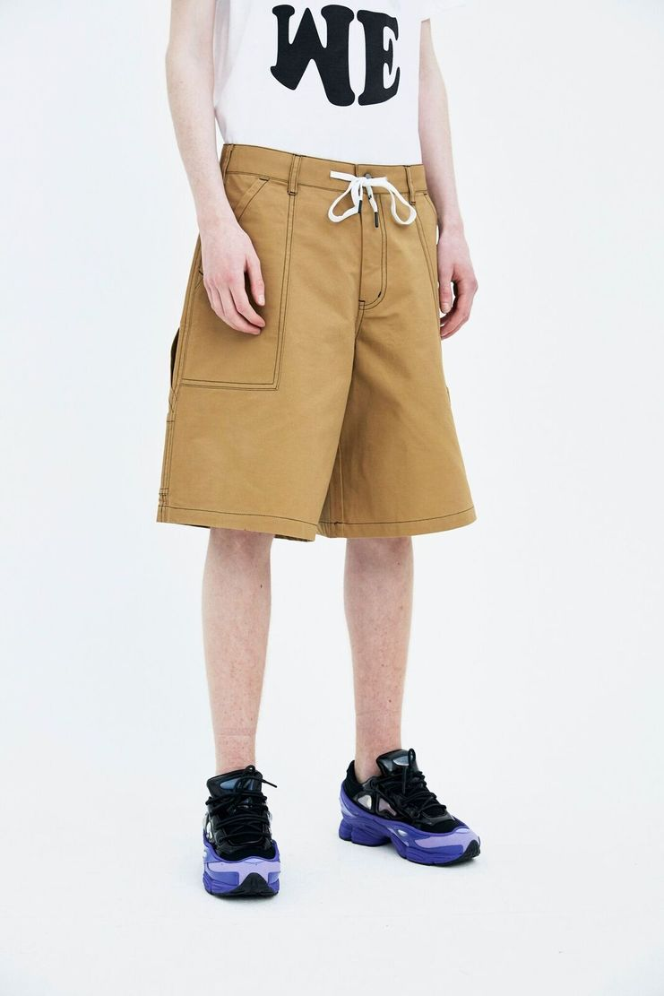 Liam Hodges beige new world shorts trousers bottoms SS18 S/S 18 Spring Summer Grey LH-SS18-102 Machine-A