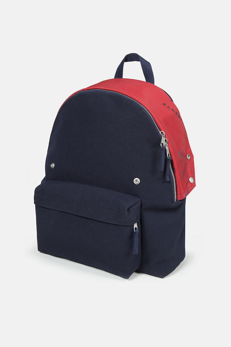 Raf Simons X Eastpak Navy Padded Pak'r ss18 spring summer 18 collaboration Machine A