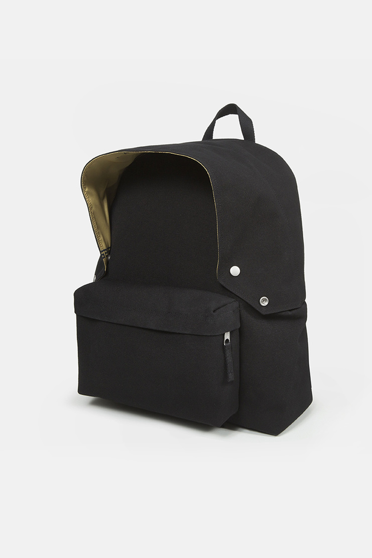 Raf Simons X Eastpak Black Padded Pak'r ss18 spring summer 18 collaboration Machine A