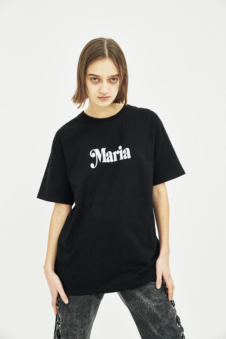 Satan's School for Girls Black Maria T-shirt ss18 spring summer 18 tee white black monochrome