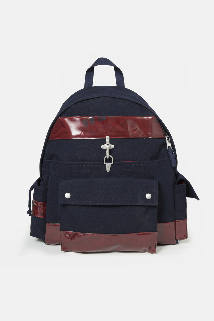 Raf Simons x Eastpak Navy Functional Backpack new arrivals collaboration SS18 s/s 18 spring summer Machine A SHOWstudio accessories backpack bags mens