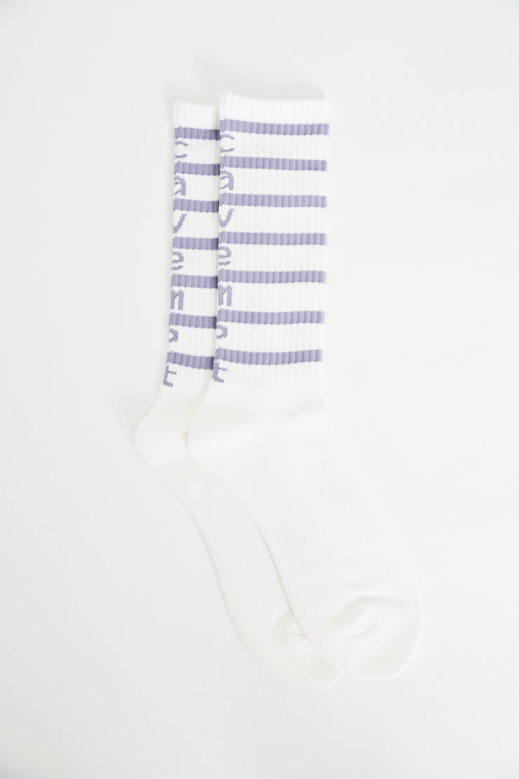 Cav Empt White Stripe Socks SS18 s/s 18 spring summer Machine A SHOWstudio csv cavempt cave empt new arrivals accessories
