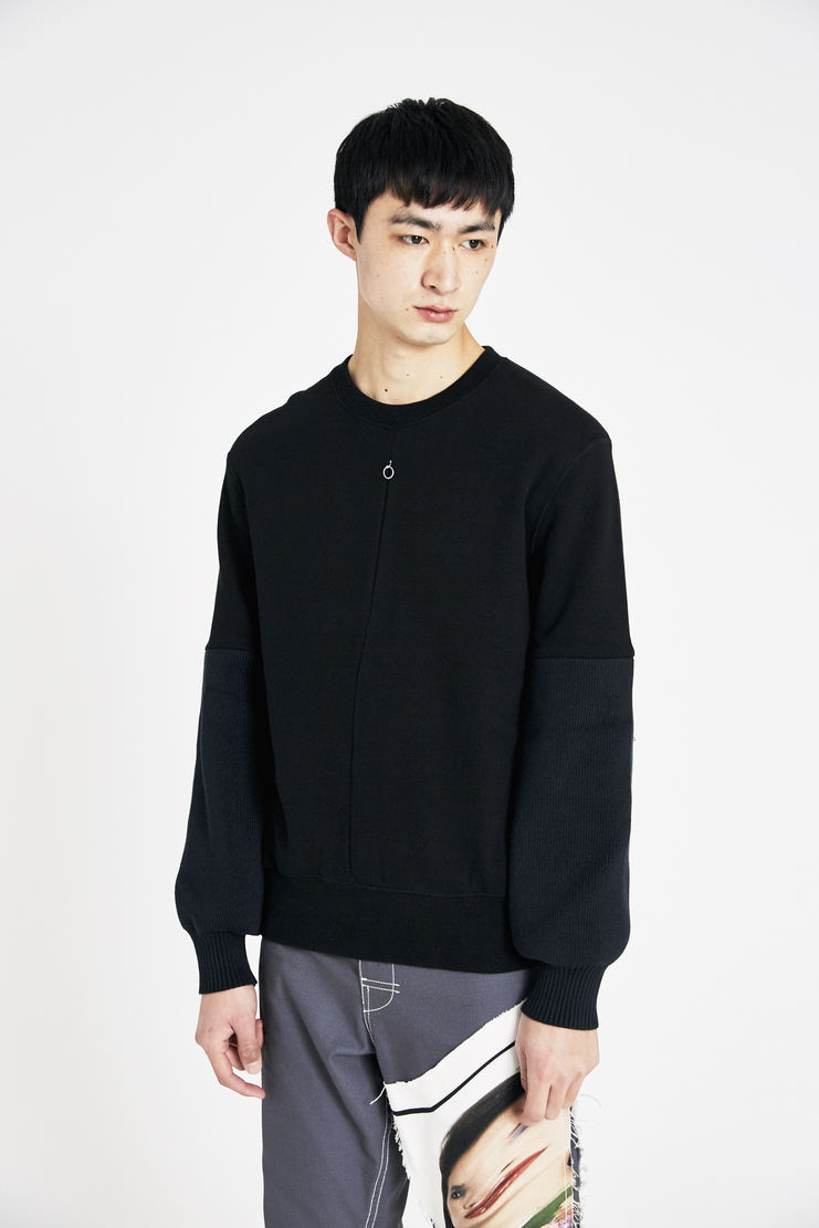ALYX Black Velcro Sweatshirt new arrivals SS18 s/s 18 spring summer Machine A SHOWstudio mens top