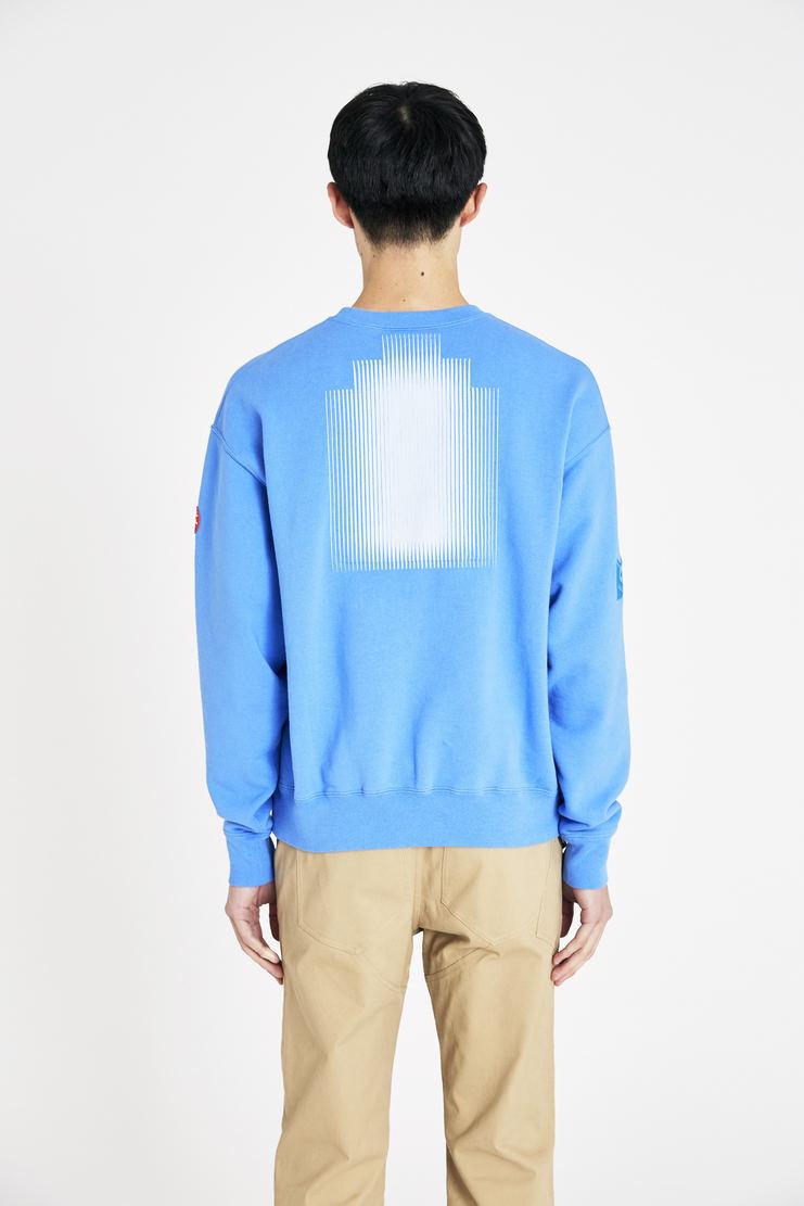 Cav Empt blue card 17 crewneck jumperss18 sweatshirt S/S 18 Spring Summer 2018 csv cavempt cave empt Machine-A