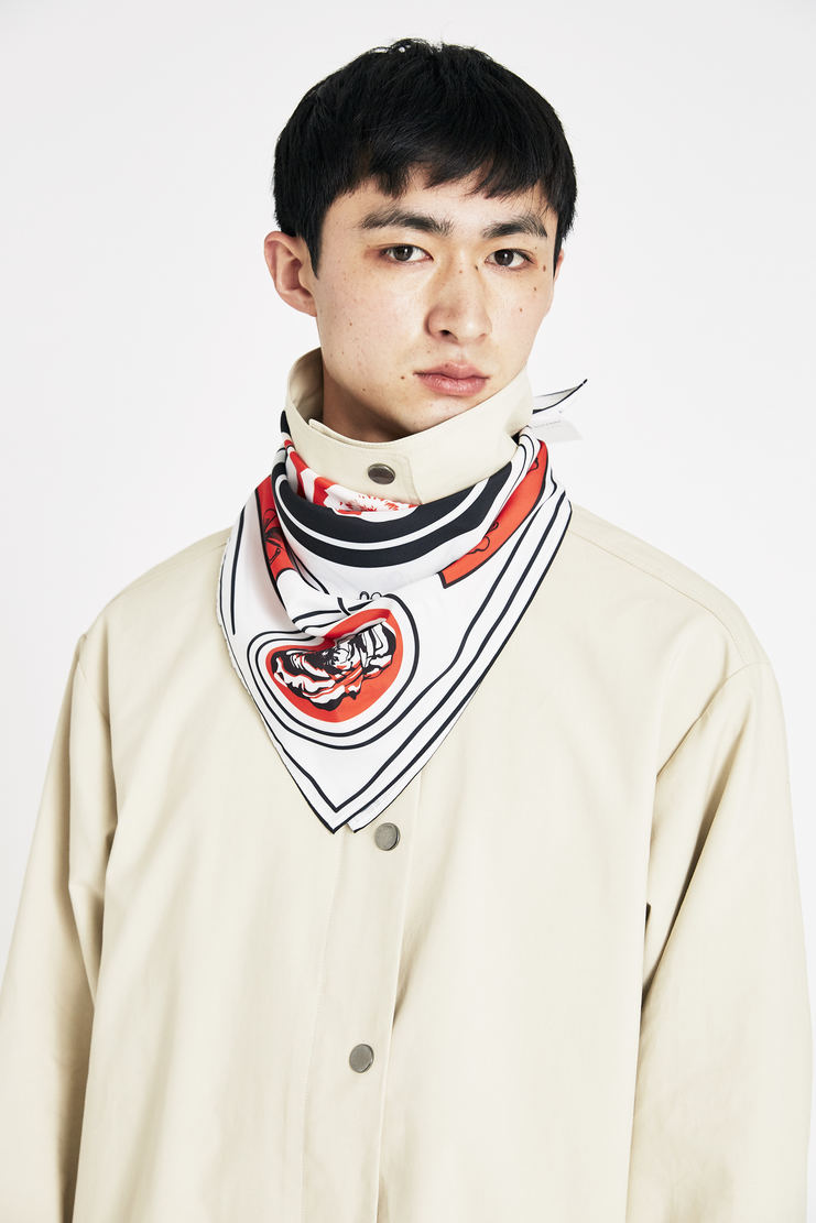 Tim Coppens Poppy Bandana SS18 s/s 18 spring summer Machine A SHOWstudio tim coppen timcoppens new arrivals accessories MACS18TC014