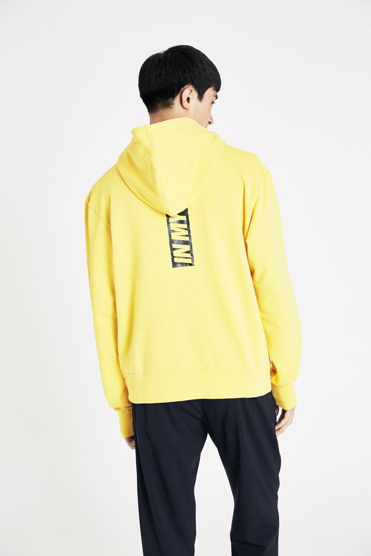 Tim Coppens Yellow Acid Hoodie SS18 s/s 18 spring summer Machine A SHOWstudio tim coppen timcoppens new arrivals hoodies top tops MKNS18TC151