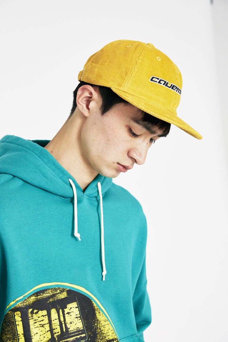 Cav Empt Yellow Home Cord Low Cap SS18 s/s 18 spring summer Machine A SHOWstudio caps hats hat