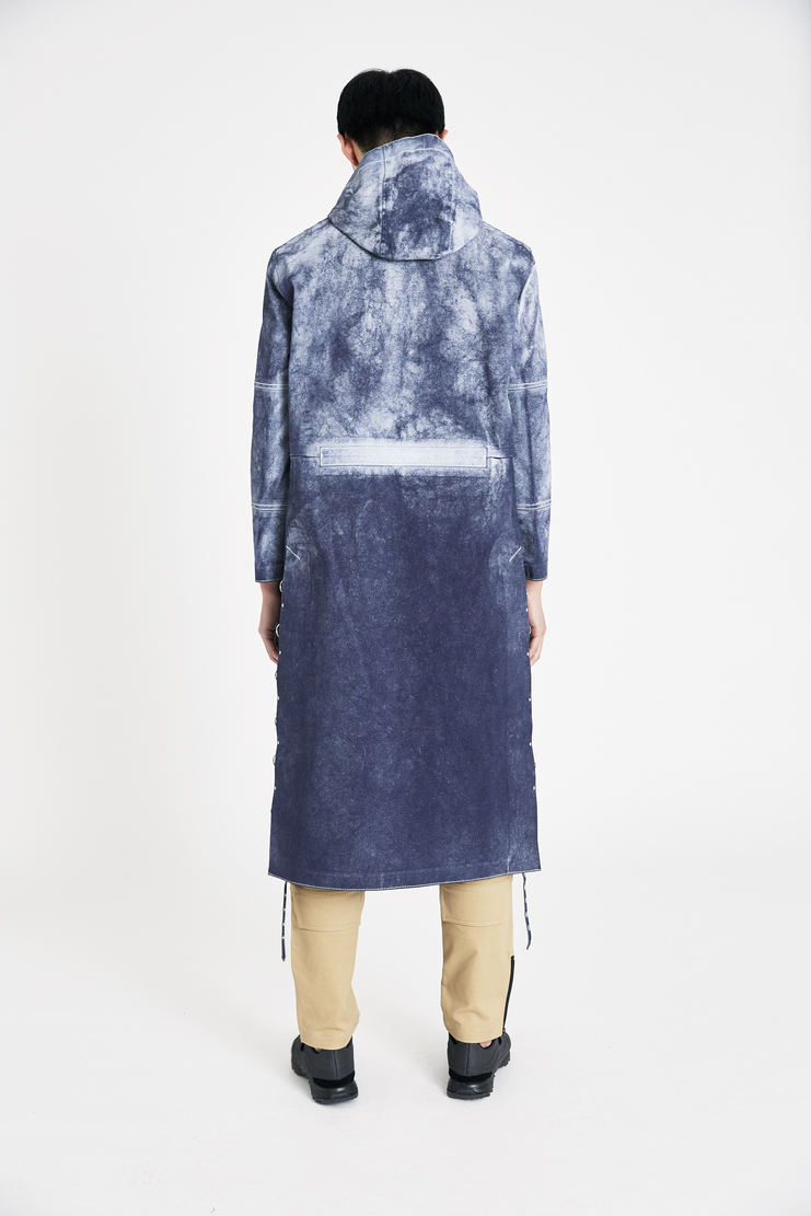 ALYX x Mackintosh Gradient Navy Hooded Coat new arrivals SS18 s/s 18 spring summer Machine A SHOWstudio mens coat AMWOU0003