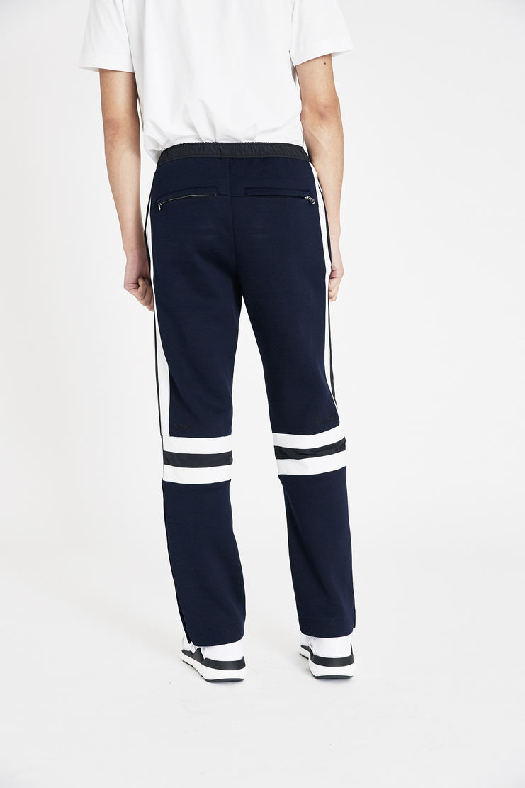 Tim Coppens Navy Staple Joggers SS18 s/s 18 spring summer Machine A SHOWstudio tim coppen timcoppens new arrivals trousers MTRS18TC013