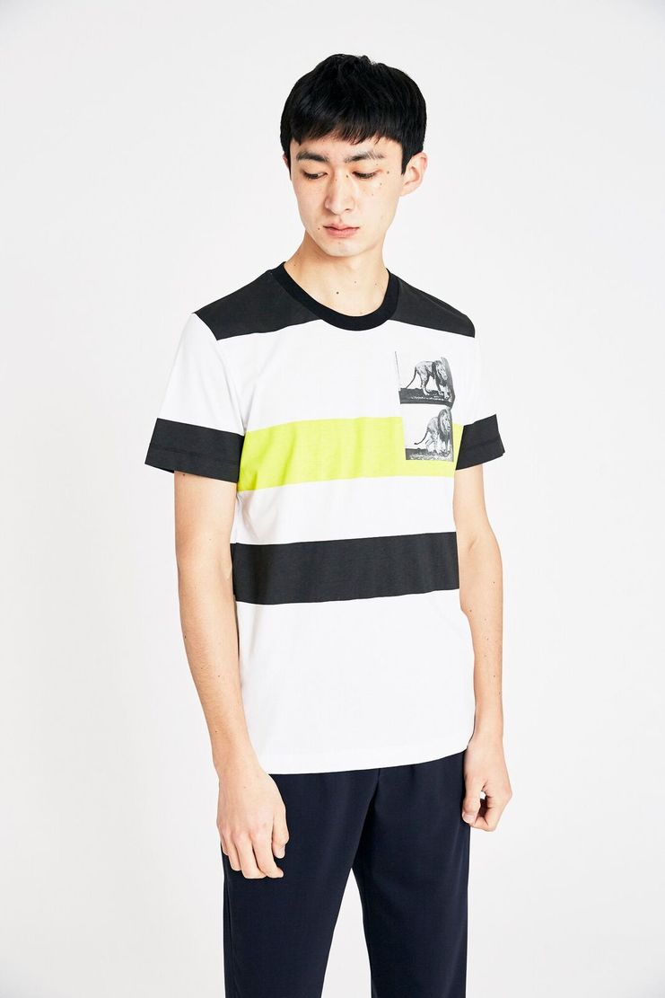 Tim Coppens White Lion Tee SS18 s/s 18 spring summer Machine A SHOWstudio t shirt t-shirt tim coppen timcoppens new arrivals MKNS18TC043