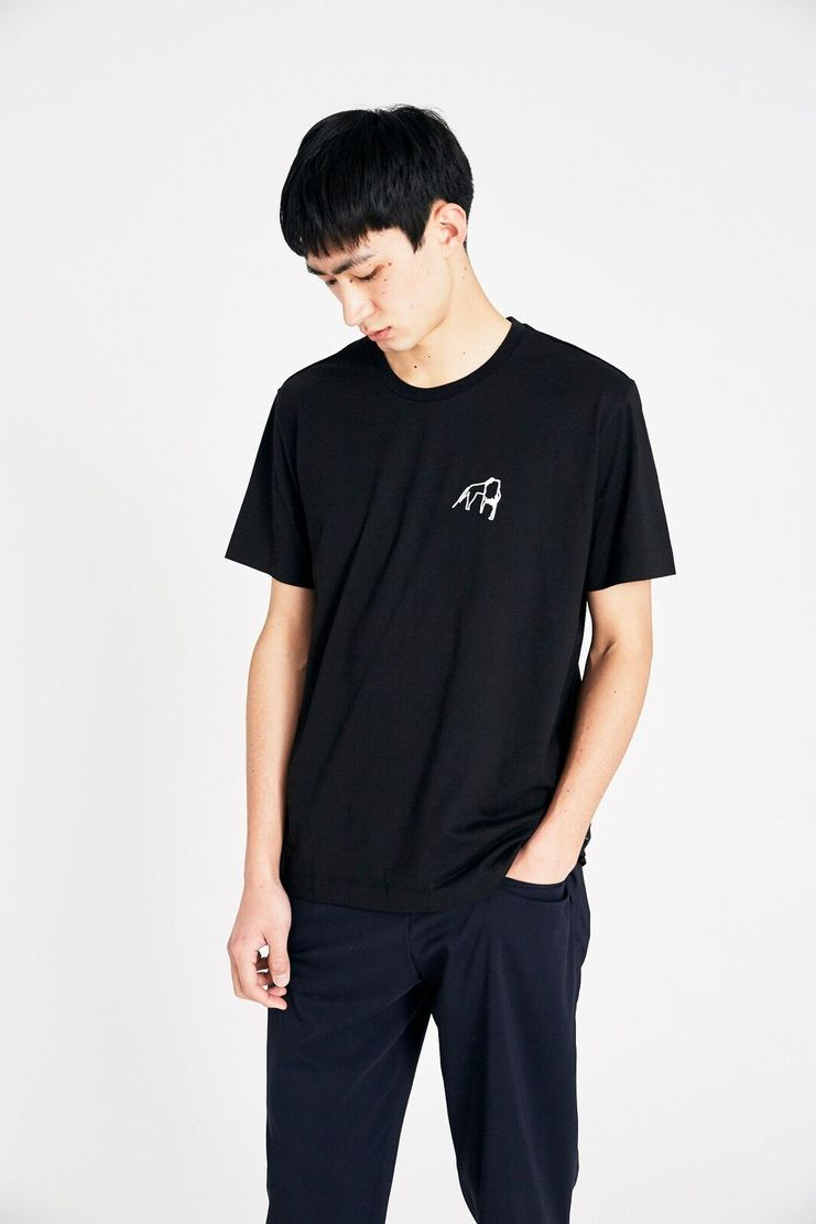 Tim Coppens Black Poppy Tee SS18 s/s 18 spring summer Machine A SHOWstudio t shirt t-shirt tim coppen timcoppens new arrivals. MKNS18TC045