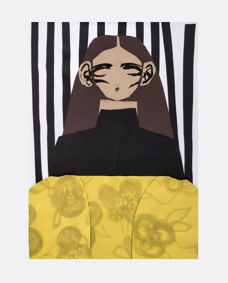 Beth Fraser, Marques' Almeida A/W 18, showstudio, fashion illustration
