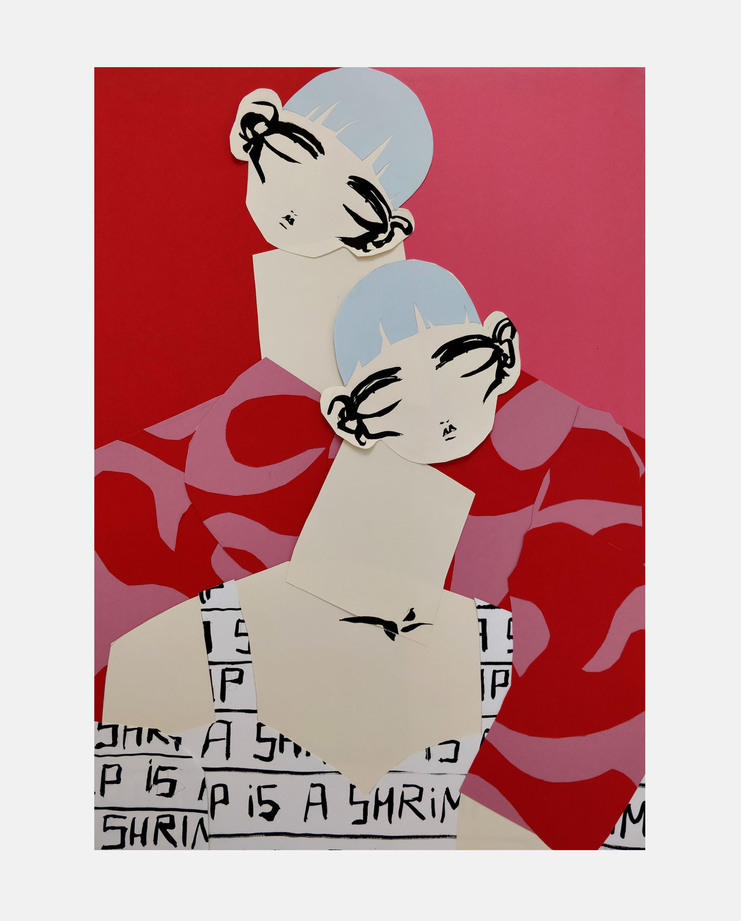 Shrimps A/W 18, Beth Fraser, showstudio, fashion illustration