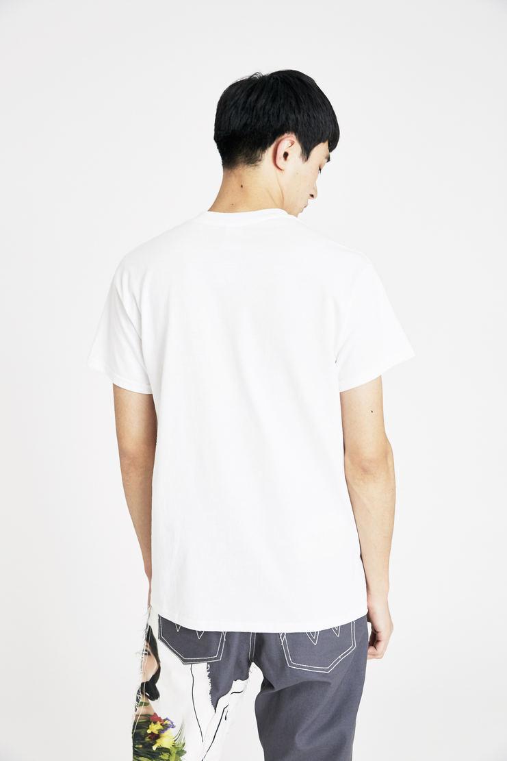 Expert Horror White Core Saint Hand T-Shirt Print Short Sleeve Crew Cut Classic Fit A/W 17 F/W 17 FW17 AW17