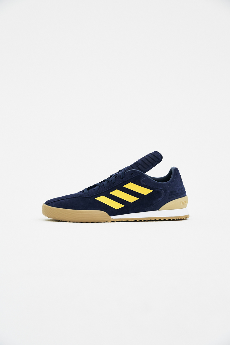 Adidas x Gosha Rubchinskiy Navy Copa Sneakers spring summer S/S 18 collection Machine A SHOWstudio sneakers trainers shoes adidas collaboration G012SH11