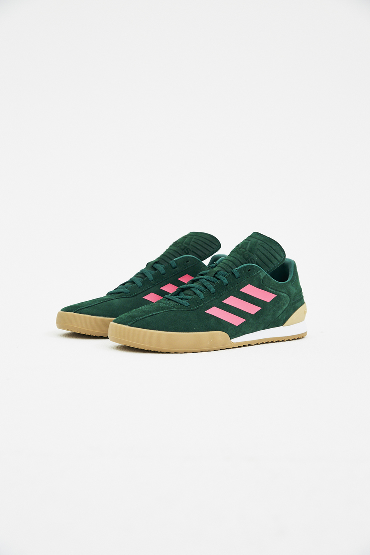 Adidas x Gosha Rubchinskiy Green Copa Sneakers spring summer S/S 18 collection Machine A SHOWstudio sneakers trainers shoes adidas collaboration G012SH11