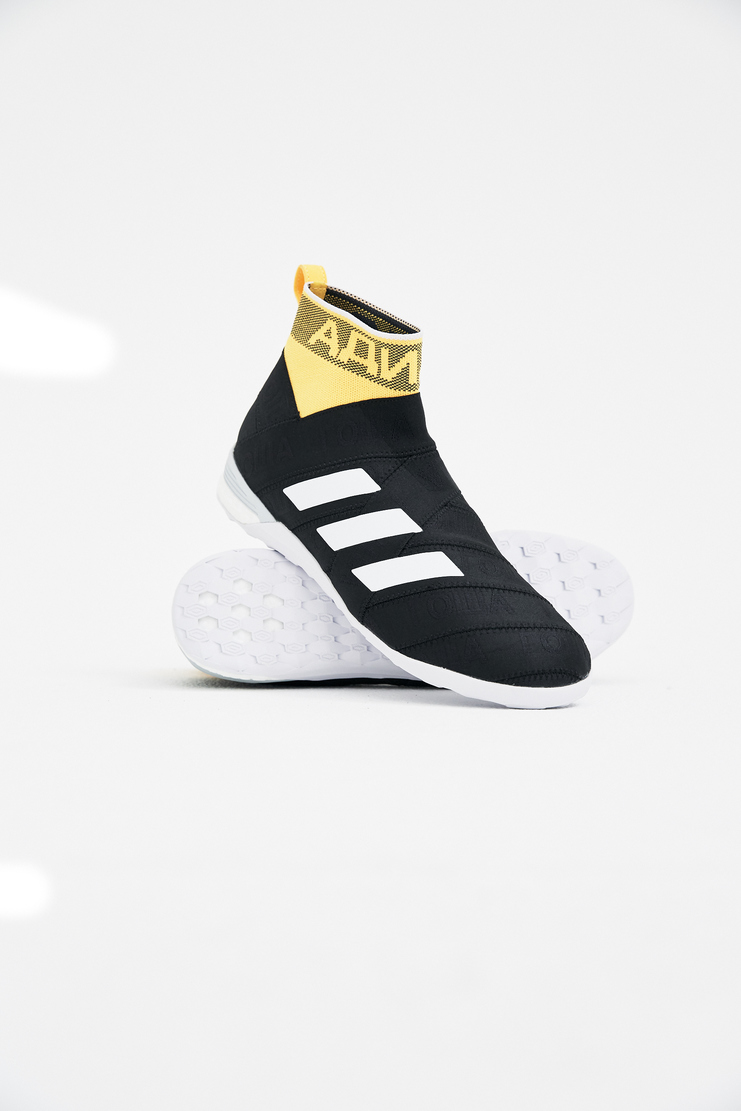 Adidas x Gosha Rubchinskiy Black NMZ Sneakers spring summer S/S 18 collection Machine A SHOWstudio sneakers trainers shoes adidas collaboration G012SH13