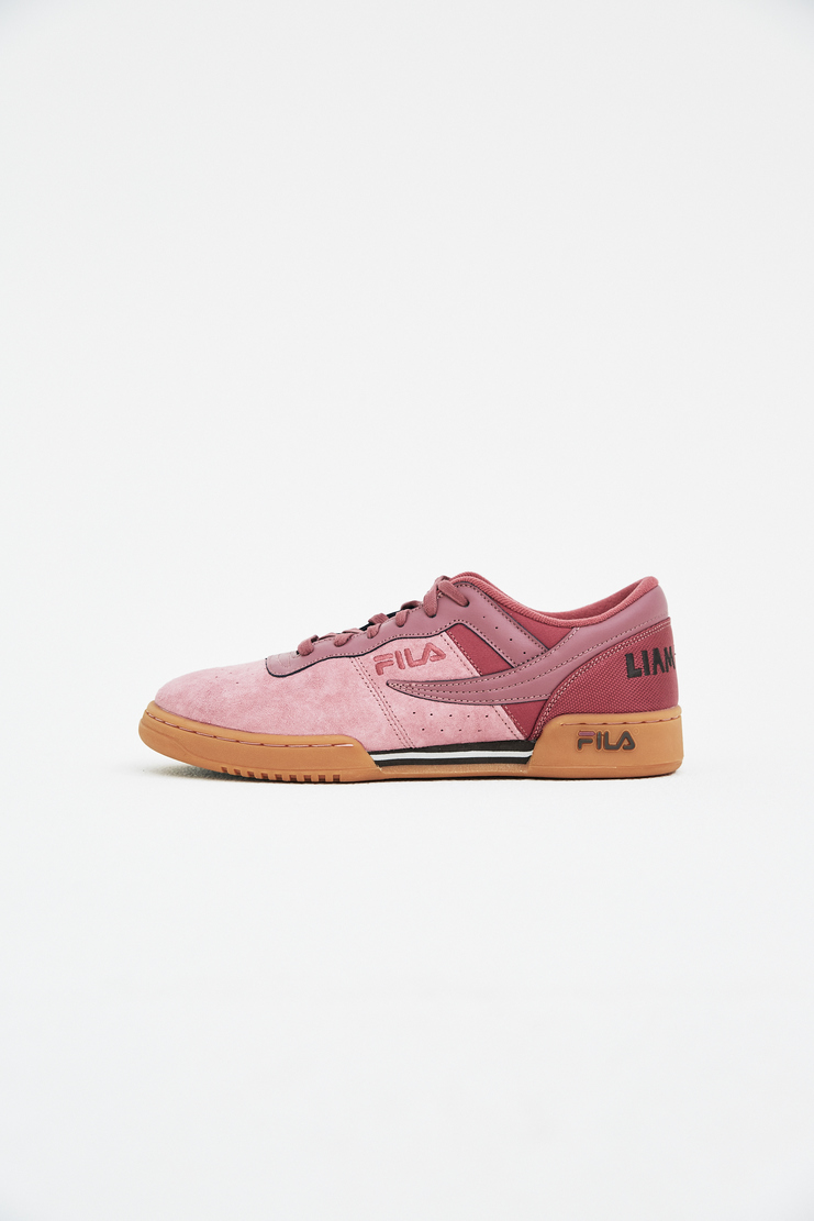 Liam Hodges x Fila Burgundy Original Fitness Shoes LHF-SS18-309 spring summer S/S 18 collection new arrivals Machine A SHOWstudio shoes accessories sportswear