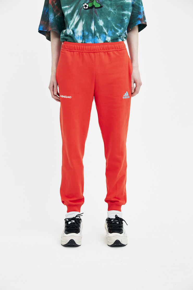 Adidas x Gosha Rubchinskiy Red Sweatpant spring summer S/S 18 collection new arrivals Machine A SHOWstudio G012P104 mens sweatpants adidas