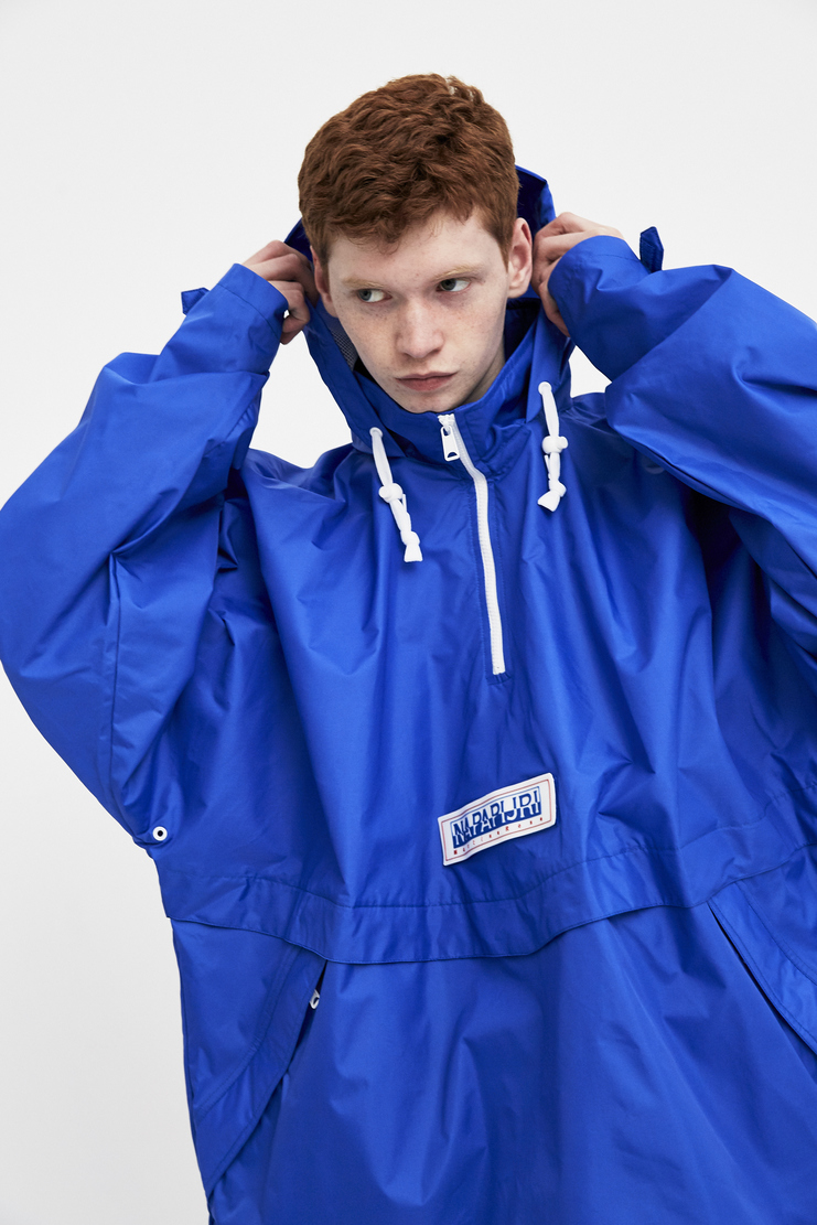 Napa x Martine Rose Royal Blue Rainforest Jacket new arrivals Machine A SHOWstudio mens jackets N0YHHX