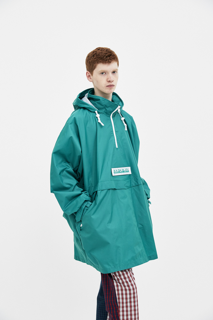 Napa x Martine Rose Green Rainforest Jacket new arrivals Machine A SHOWstudio mens jackets N0YHHX
