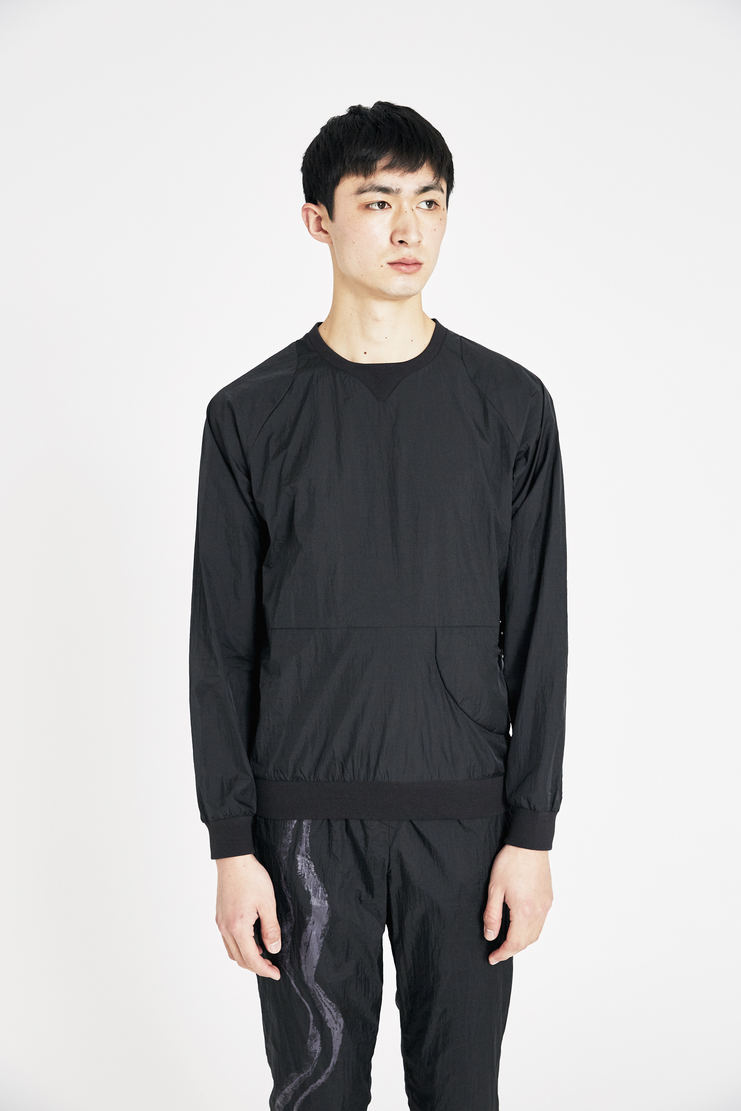 Reebok x Cottweiler Black Crinkle Woven Crew Top new arrivals spring summer S/S 18 collection CZ4331 collaboration sportswear top mens
