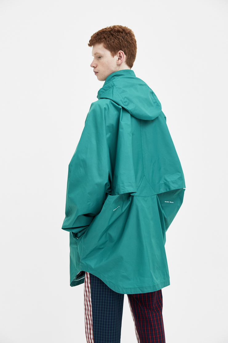 Napapijri x Martine Rose Green Rainforest Alpha Jacket new arrivals Machine A SHOWstudio mens jackets N0YHHW zip parka napa