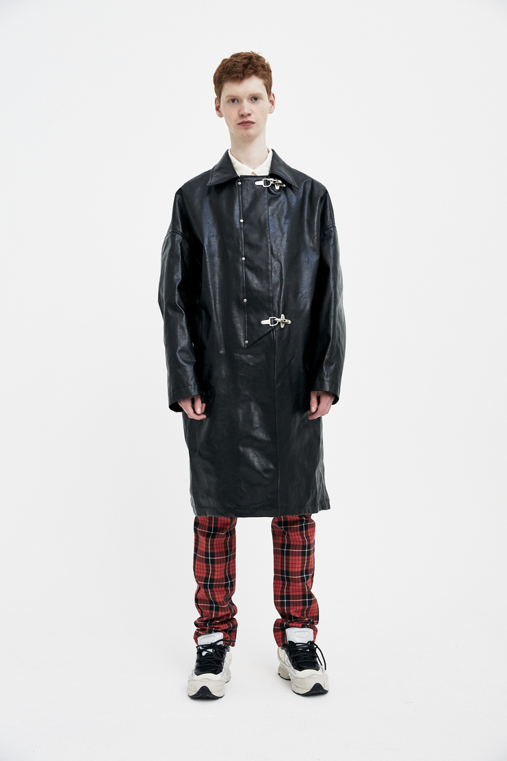 Raf Simons Black Fireman Coat s/s 18 spring summer 18 machine a showstudio new arrivals