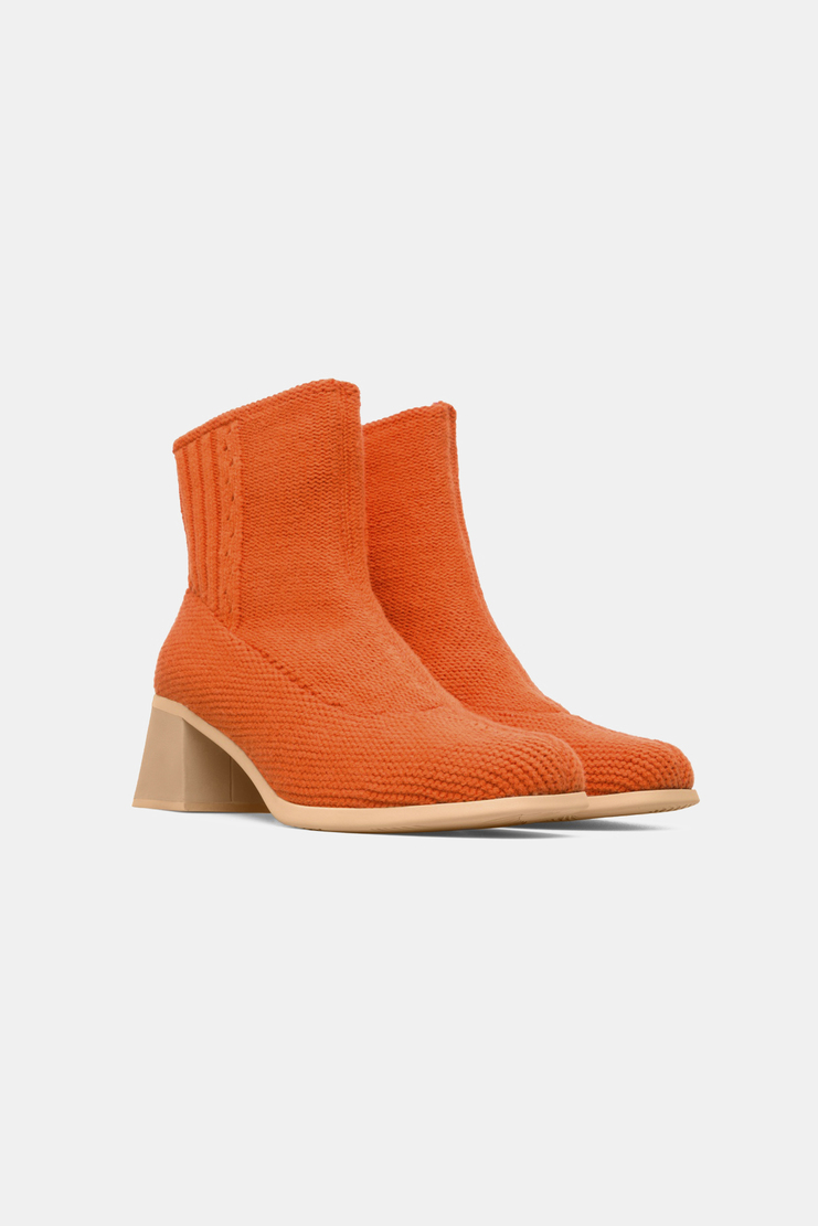 Camper x Eckhaus Latta Orange Ankle Boots new arrivals shoes sandal womens Machine A SHOWstudio S/S 18 collection spring summer K400161-004