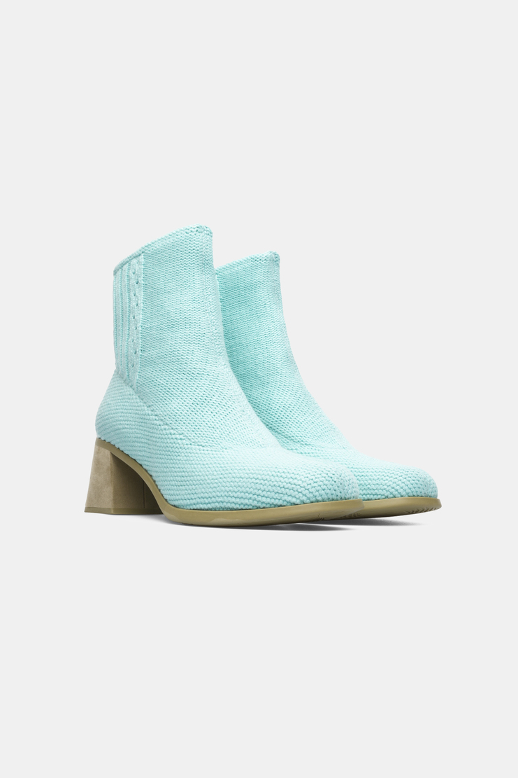 Camper x Eckhaus Latta Turquoise Ankle Boots new arrivals shoes sandal womens Machine A SHOWstudio S/S 18 collection spring summer K400161-006