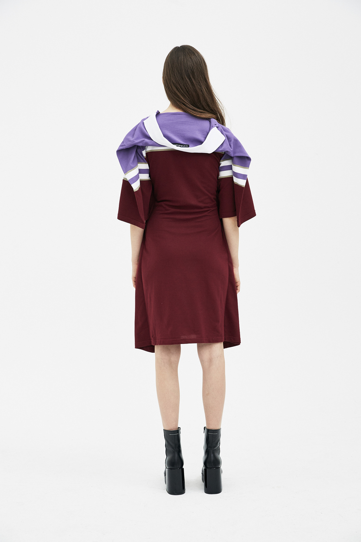 Y/Project Violet Polo Dress WDRESSPO33-S14 new arrivals y project dresses womens S/S 18 collection spring summer Machine A SHOWstudio