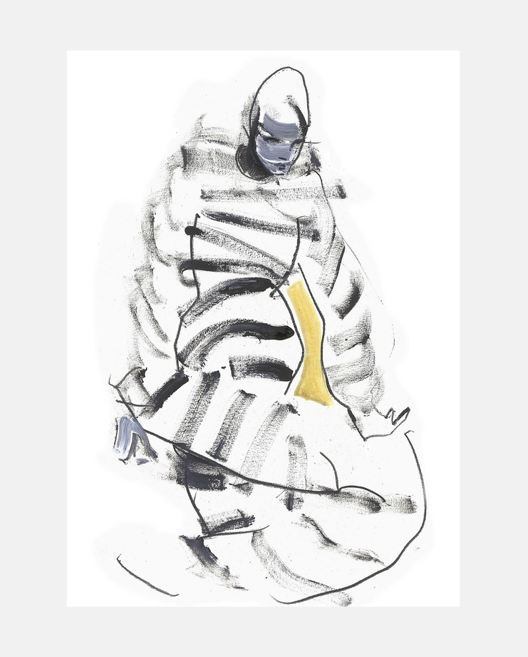 Kenzo A/W 18, Petra Lunenburg, fashion illustration, showstudio