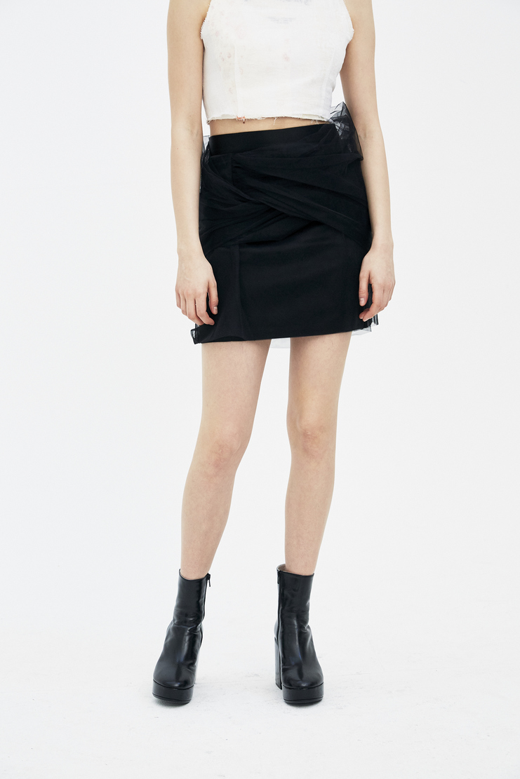Y/Project Black Skirt WSKIRT14-S14 new arrivals y project S/S 18 collection spring summer Machine A SHOWstudio