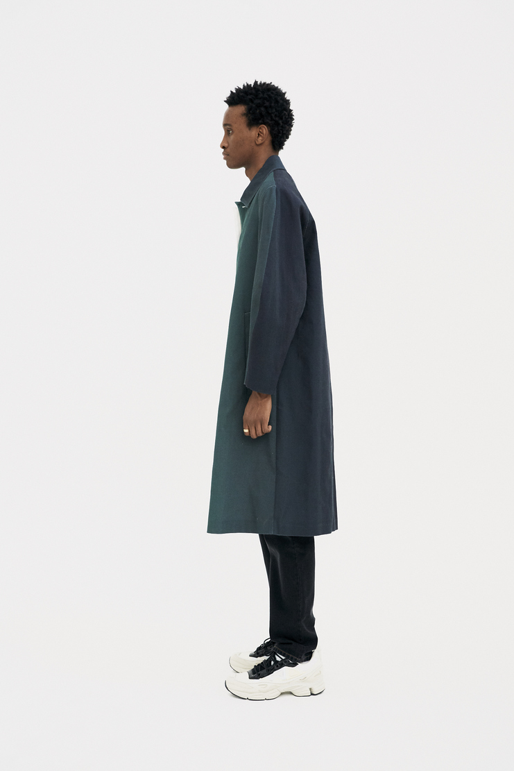 Namacheko Green Gradient Raglan Coat s/s 18 spring summer 18 machine a showstudio new arrivals 5005