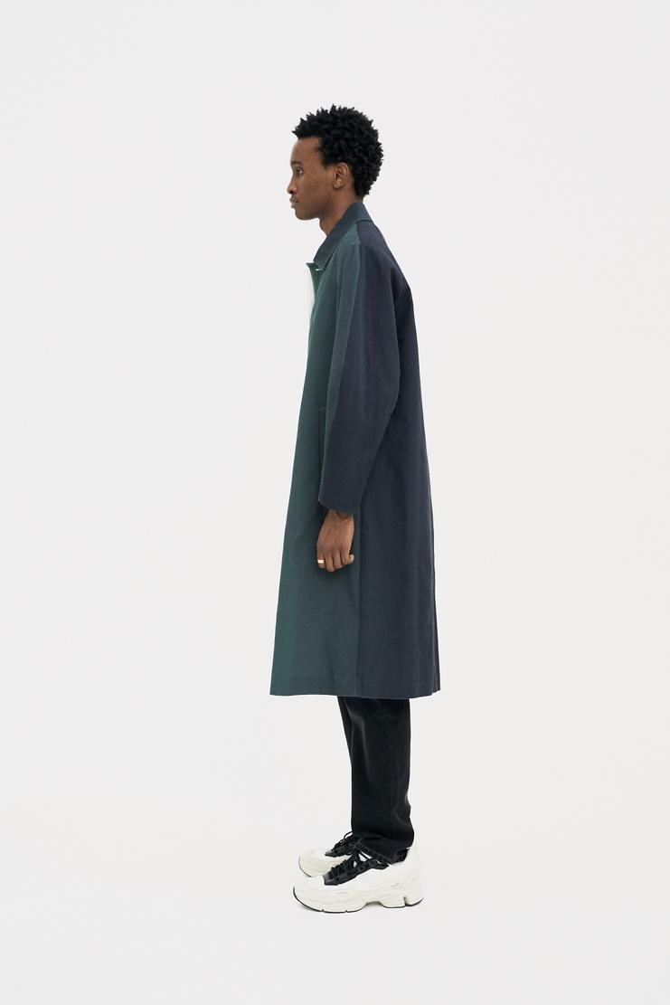 Namacheko Green Gradient Raglan Coat s/s 18 spring summer 18 machine a showstudio new arrivals 5005