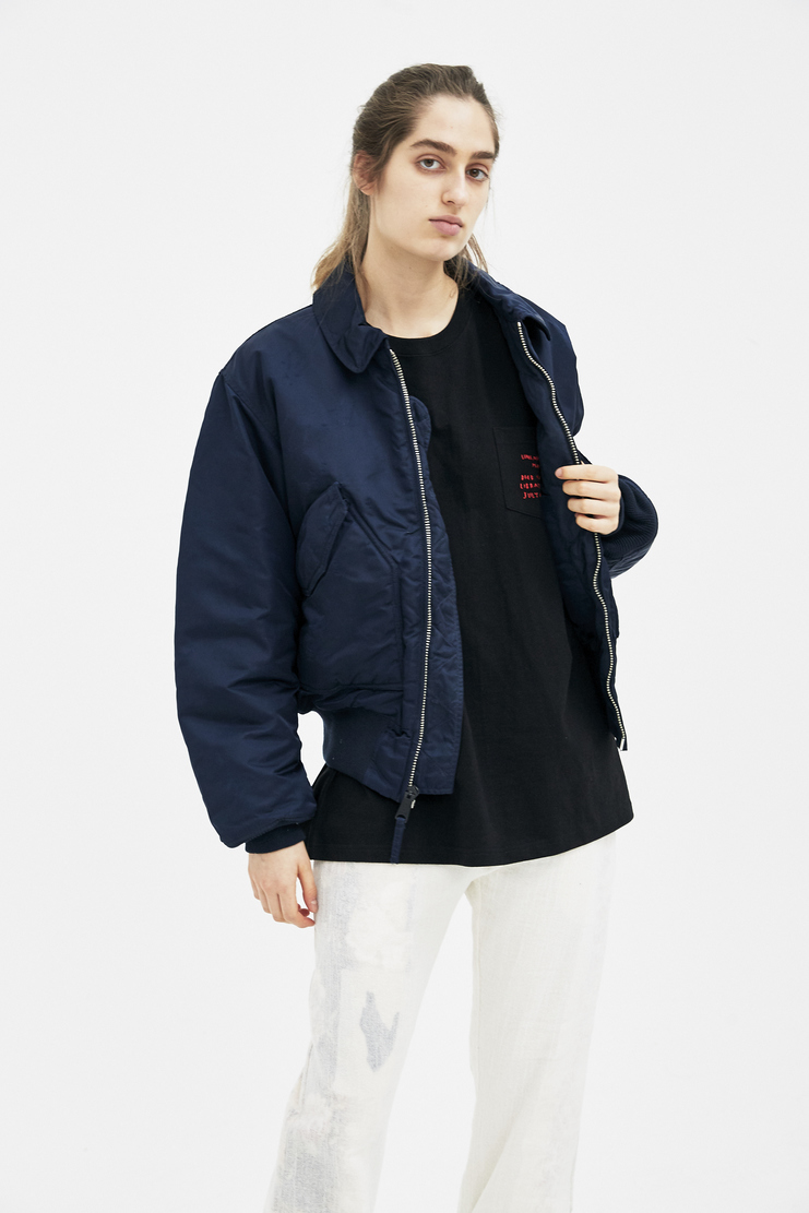 ALYX Blue Alpha Pilot Jacket AAUOU0001 new arrivals jackets womens Machine A SHOWstudio spring summer18 S/S 18 collection