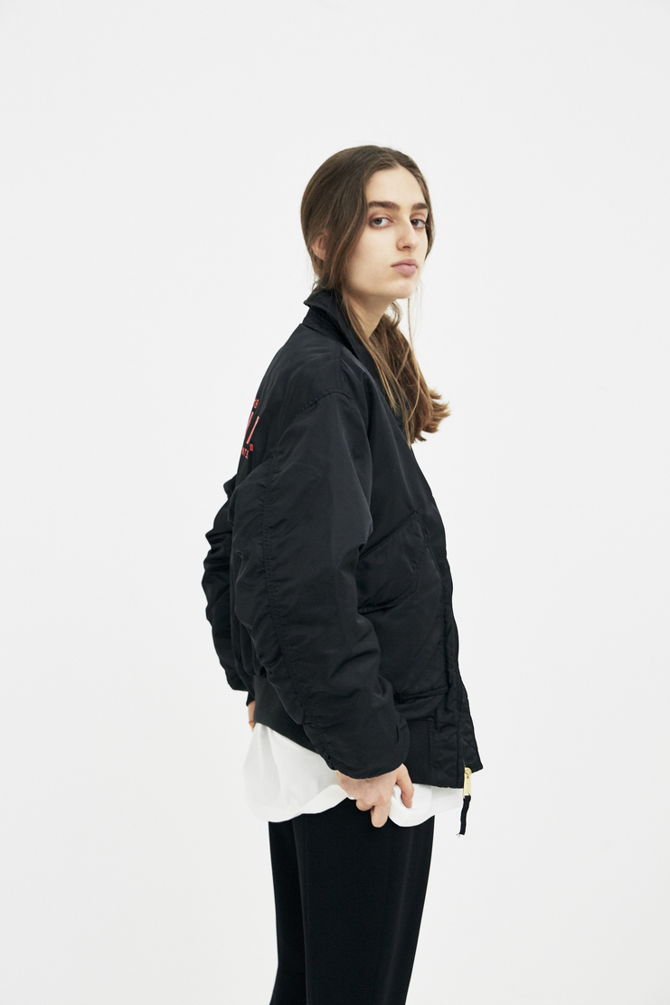 ALYX Black Alpha Pilot Jacket AAUOU0001 new arrivals jackets womens Machine A SHOWstudio spring summer18 S/S 18 collection