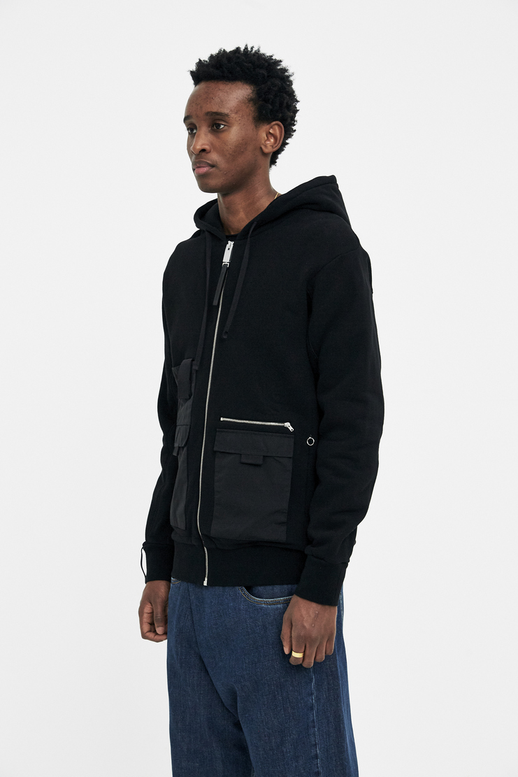 ALYX Black Multi Pocket Hoodie s/s 18 spring summer 18 machine a showstudio new arrivals AAMSW0007