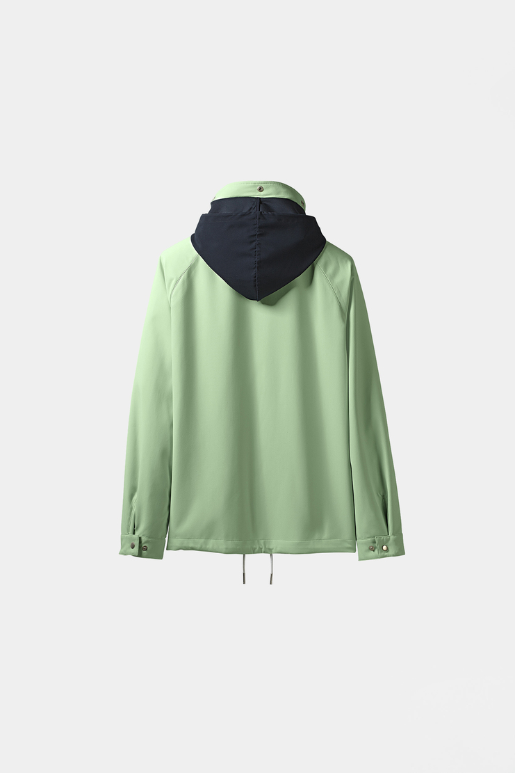 Adidas Spezial Green Anorak Jacket S/S 18 spring summer collection Machine A SHOWstudio mens track jacket CF7301