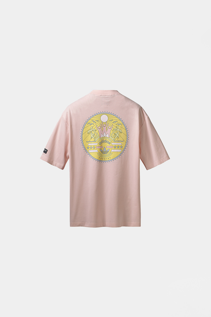 Adidas SPEZIAL Pink Settend Tee new arrivals S/S 18 spring summer collection Machine A SHOWstudio mens top t-shirt CF7316