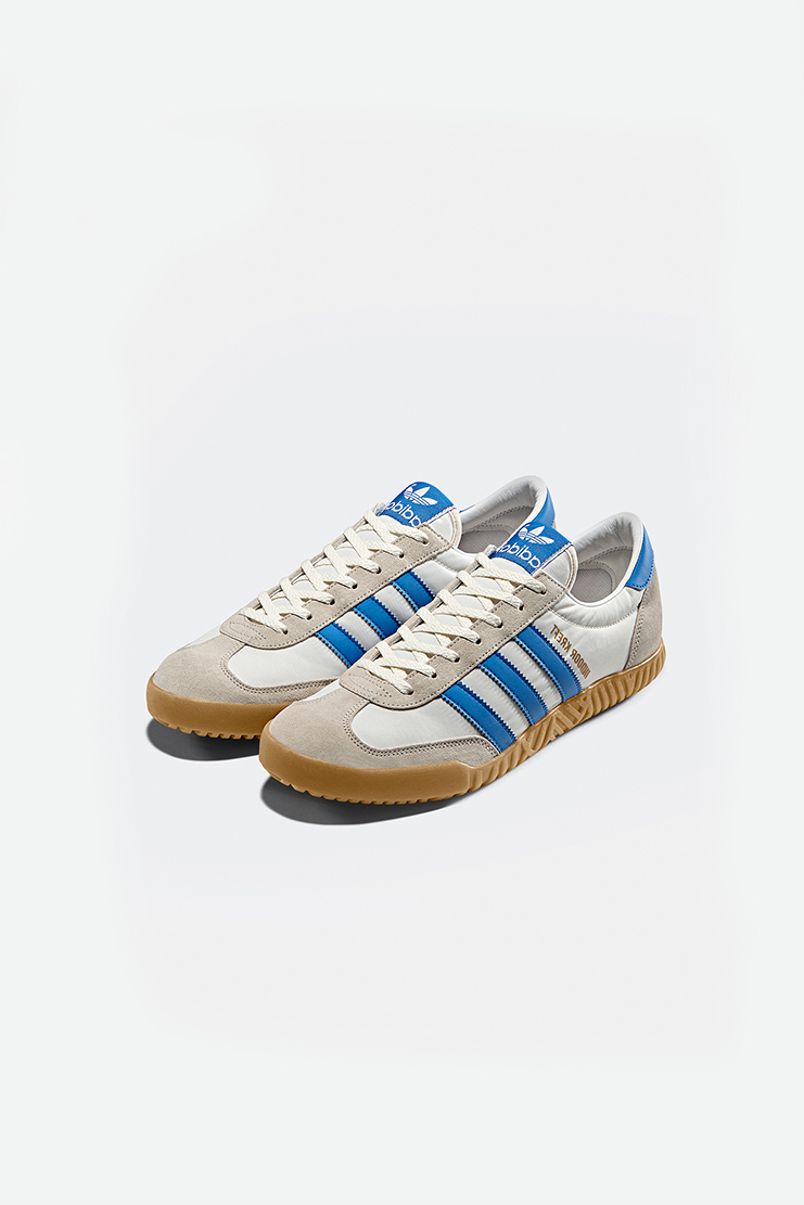 Adidas SPEZIAL White and Blue Indoor Kreft Sneakers new arrivals Machine A SHOWstudio S/S 18 spring summer collection DA8757
