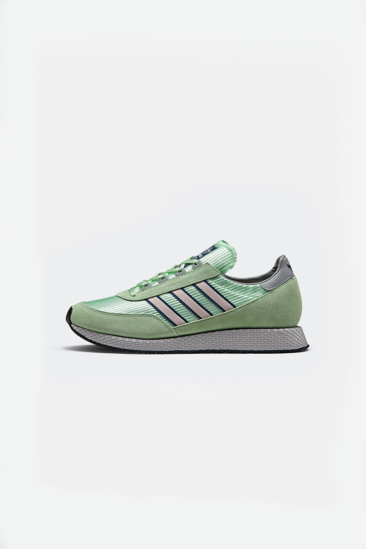 Adidas SPEZIAL Green Glenbuck SPZL Sneakers new arrivals Machine A SHOWstudio S/S 18 spring summer collection DA8759