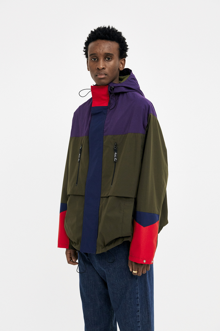 Martine Rose Multi Colour Bomber Raincoat new arrivals S/S 18 spring summer collection Machine A SHOWstudio SS18103 mens coats